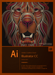 Illustrator Lion